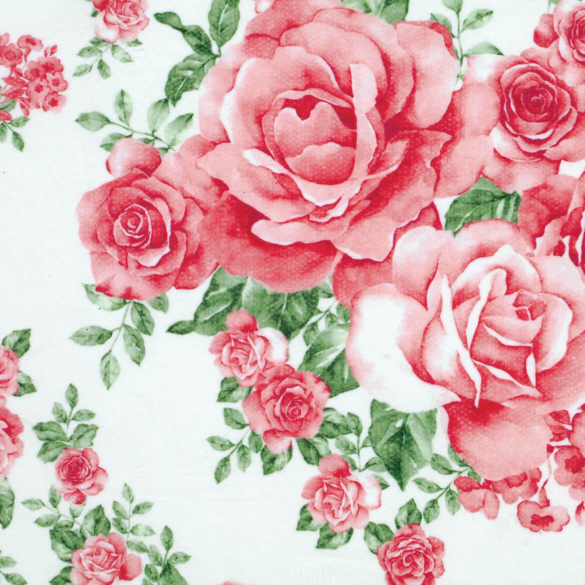 Rose Bouquet 4pc Bathroom Collection-371033