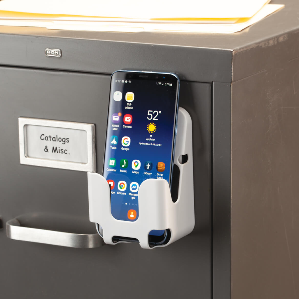 Officemate® Magnetplus™ Magnetic Phone Holder-371050