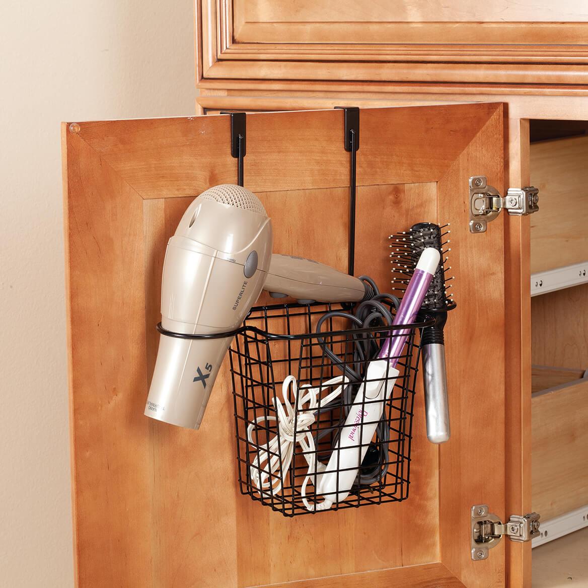 Over the Cabinet Hair Dryer Holder-371075