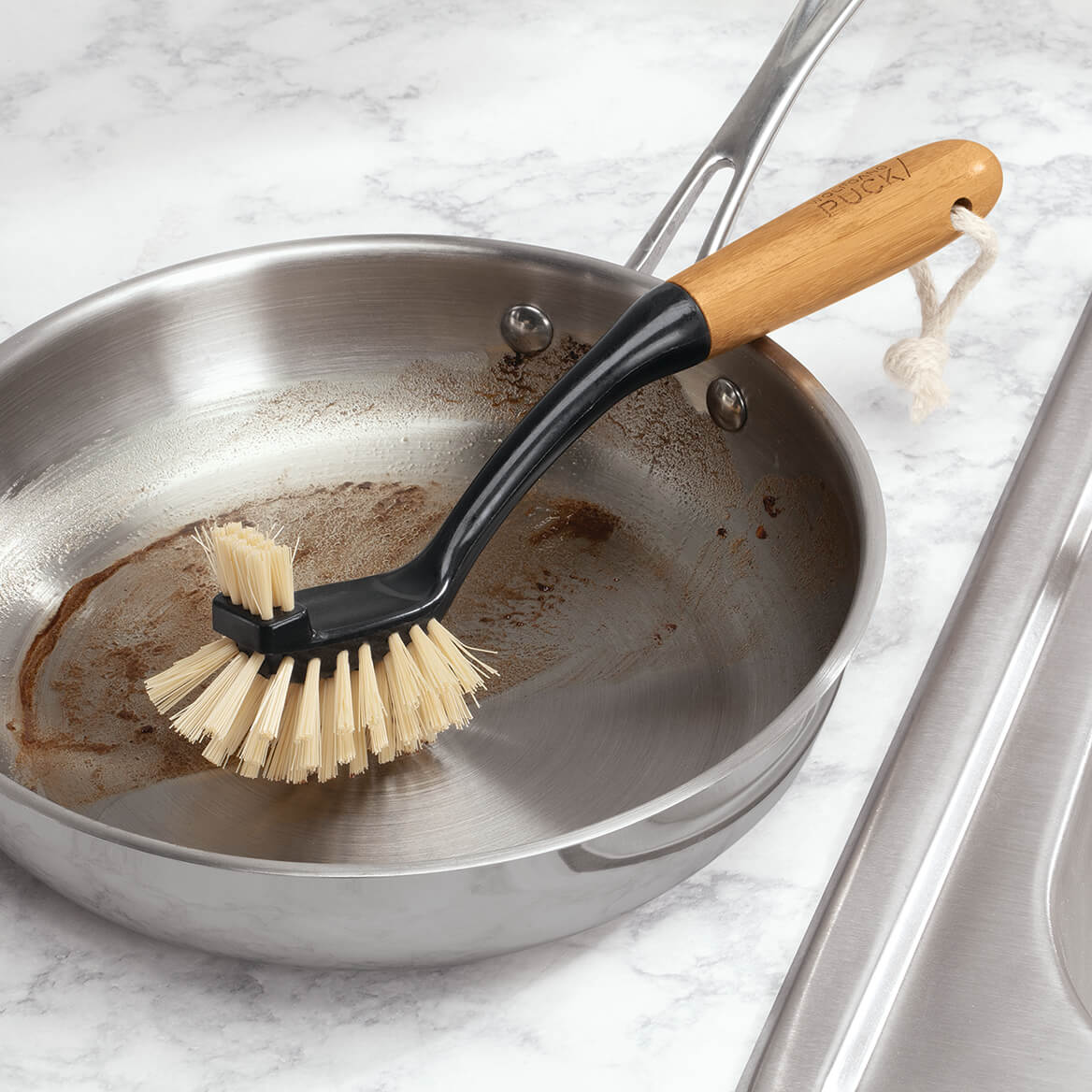 Wolfgang Puck Bamboo Dish Brush-371104