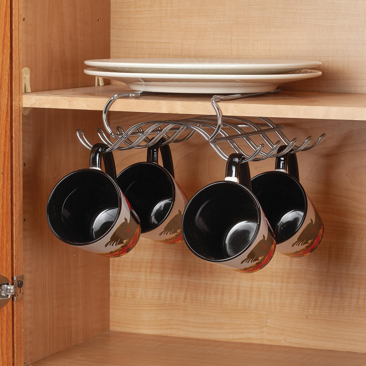 Chrome Under Cabinet Mug Holder-371109