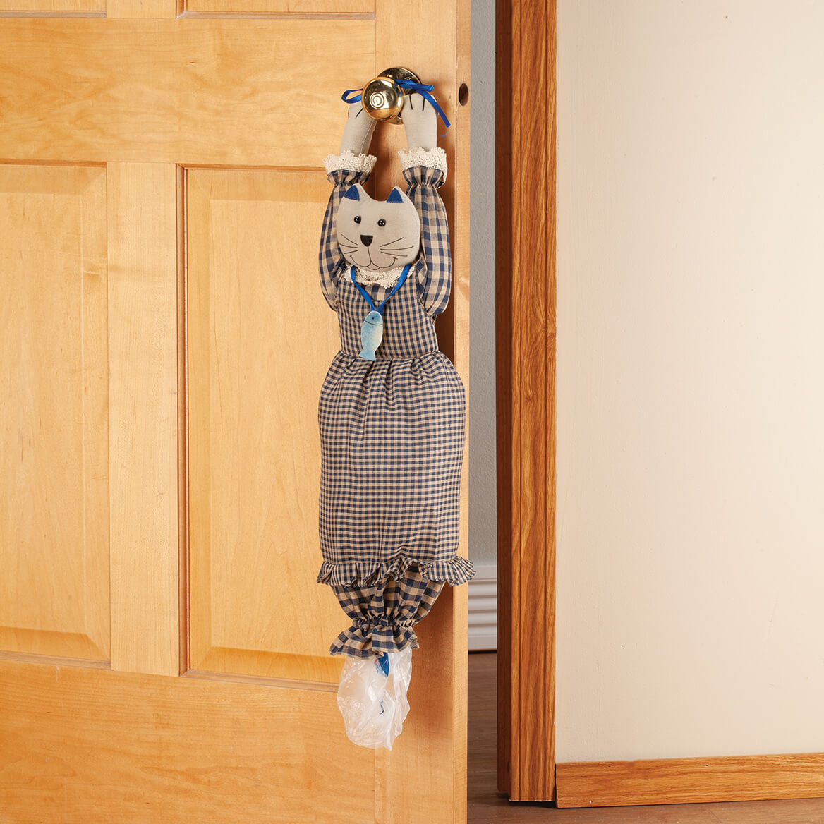 Ms. Kitty Plastic Bag Holder-371120