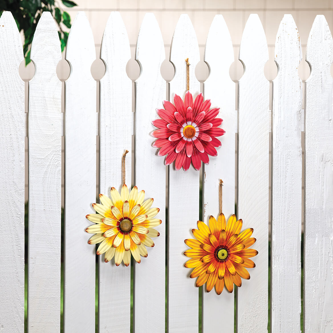 Metal Daisies, Set of 3 by Fox River™ Creations-371201