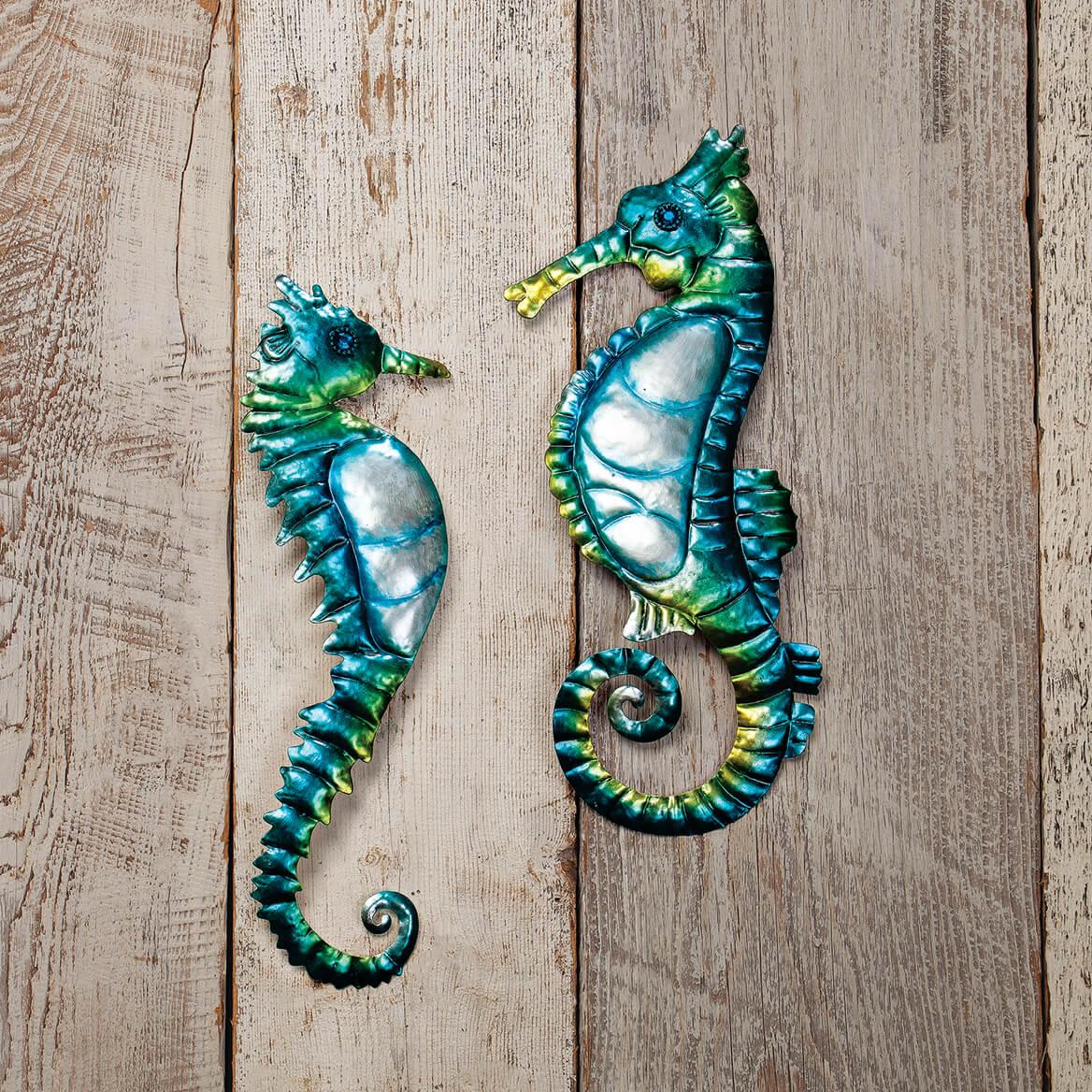 Seahorse Metal Hangings, Set of 2 by Fox River™ Creations-371215