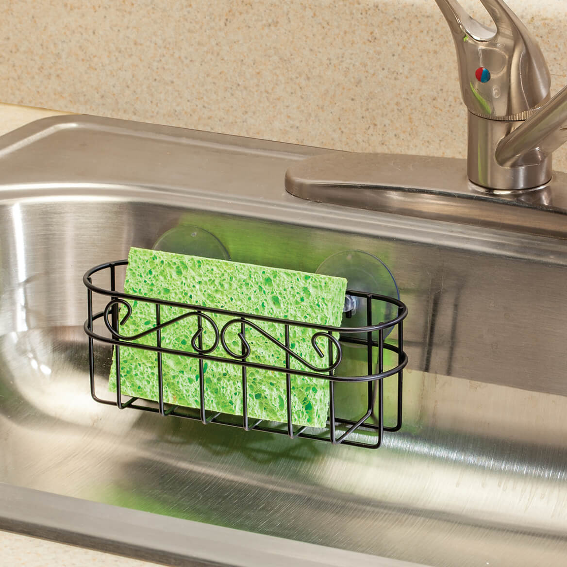 Multipurpose Metal Bath & Kitchen Organizer-371220