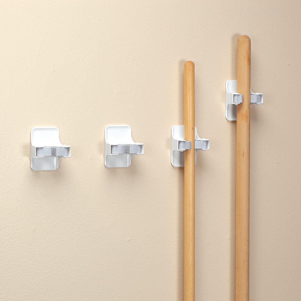 Self-Adhesive Broom Holders, Set of 4-371234