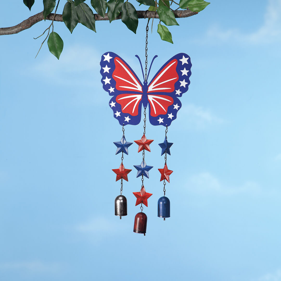 Patriotic Butterfly Wind Chime by Fox River™ Creations-371322