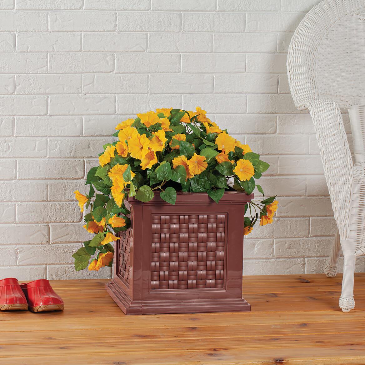 Rattan-Style Planter Box-371328