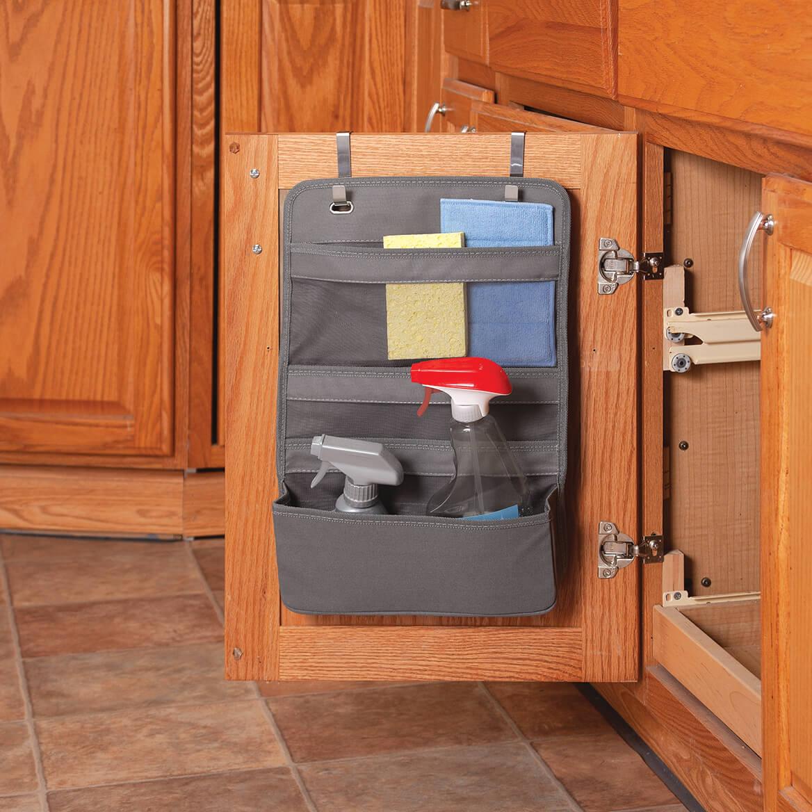 Over Cabinet Door Cleaning Organizer-371353