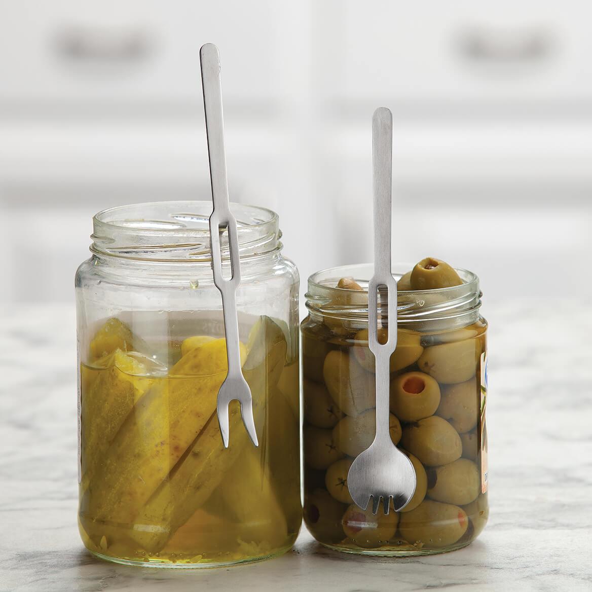 Jar Forks & Spoons, Set of 6-371395