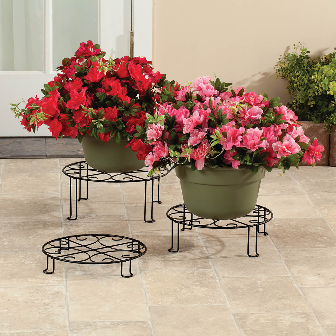 Metal Plant Stands, Set of 3-371398