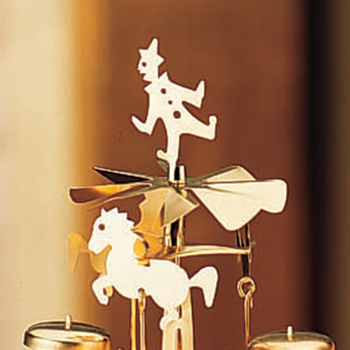 Angel Abra Carousel and Candles, Set of 2-371419