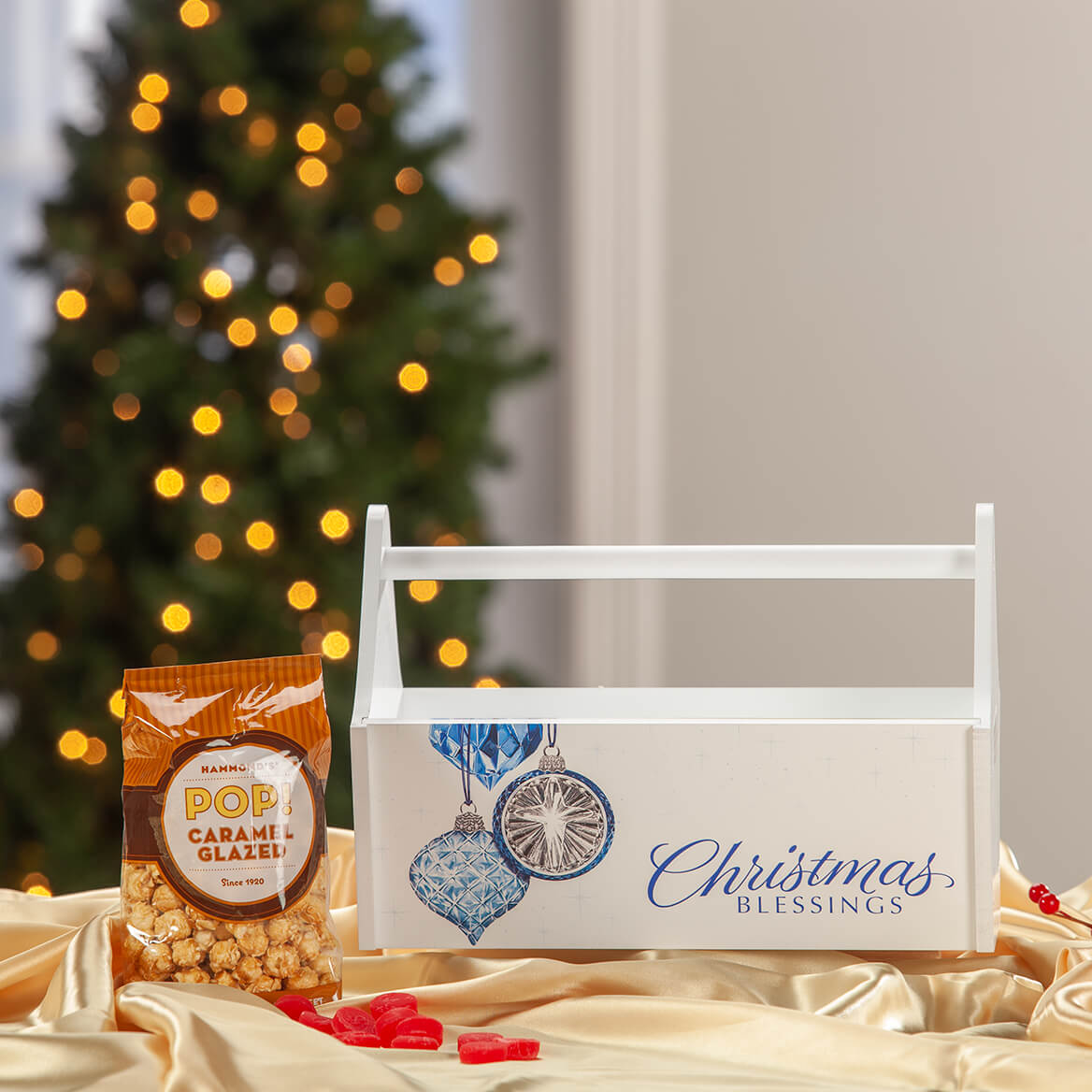 Reflections Christmas Blessings Trough Caddy-371424