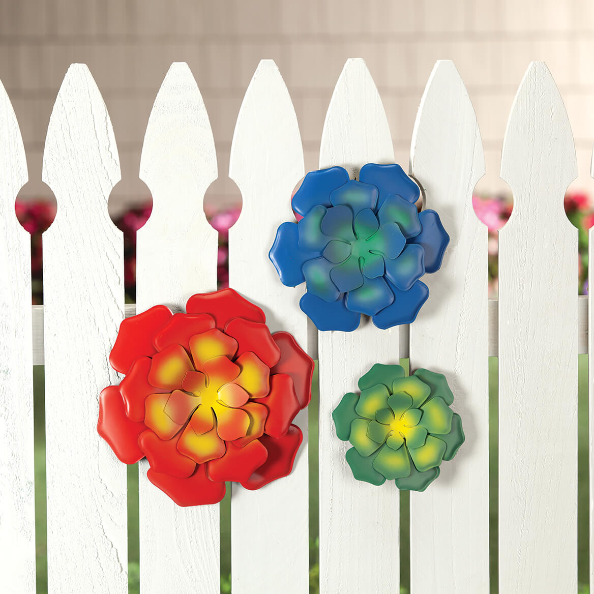 Metal Succulents Wall Hangings by Fox River™ Creations, Set of 3-371520