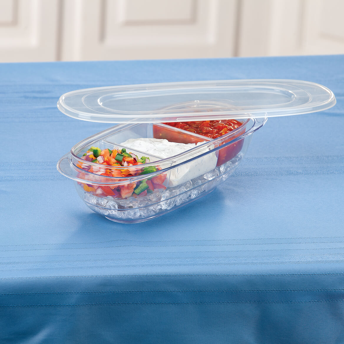3-in-1 Covered Serving Bowl by Home Marketplace™-371607