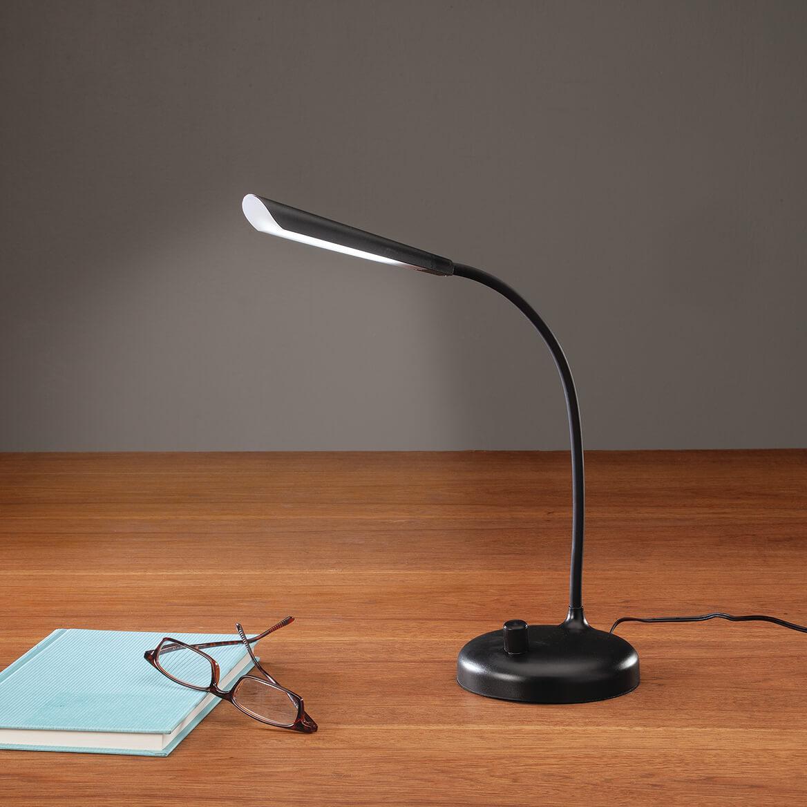 LED Gooseneck Desk Lamp With 3-Way Turn Switch-371667