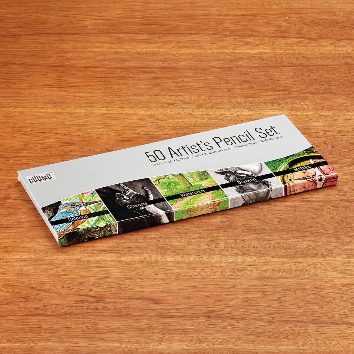 50-Piece Artist Pencil Set-371734