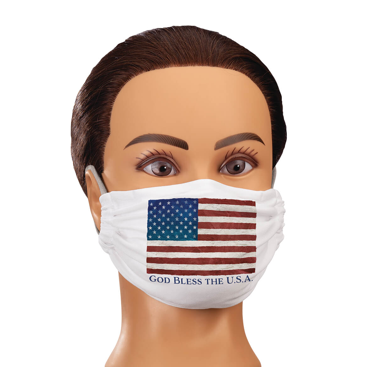 Face Masks in Traditional Designs-371766