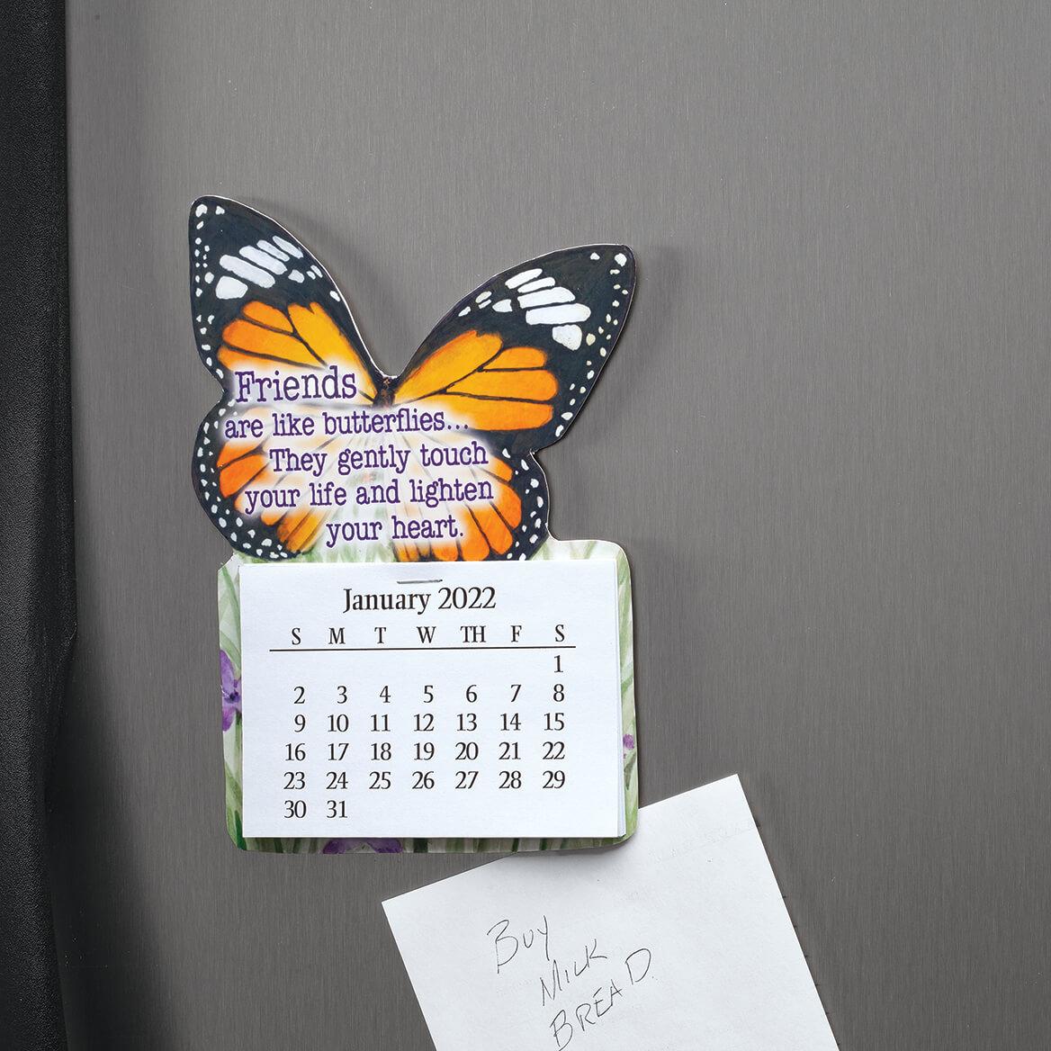 Large Butterfly Magnet Calendar-371784