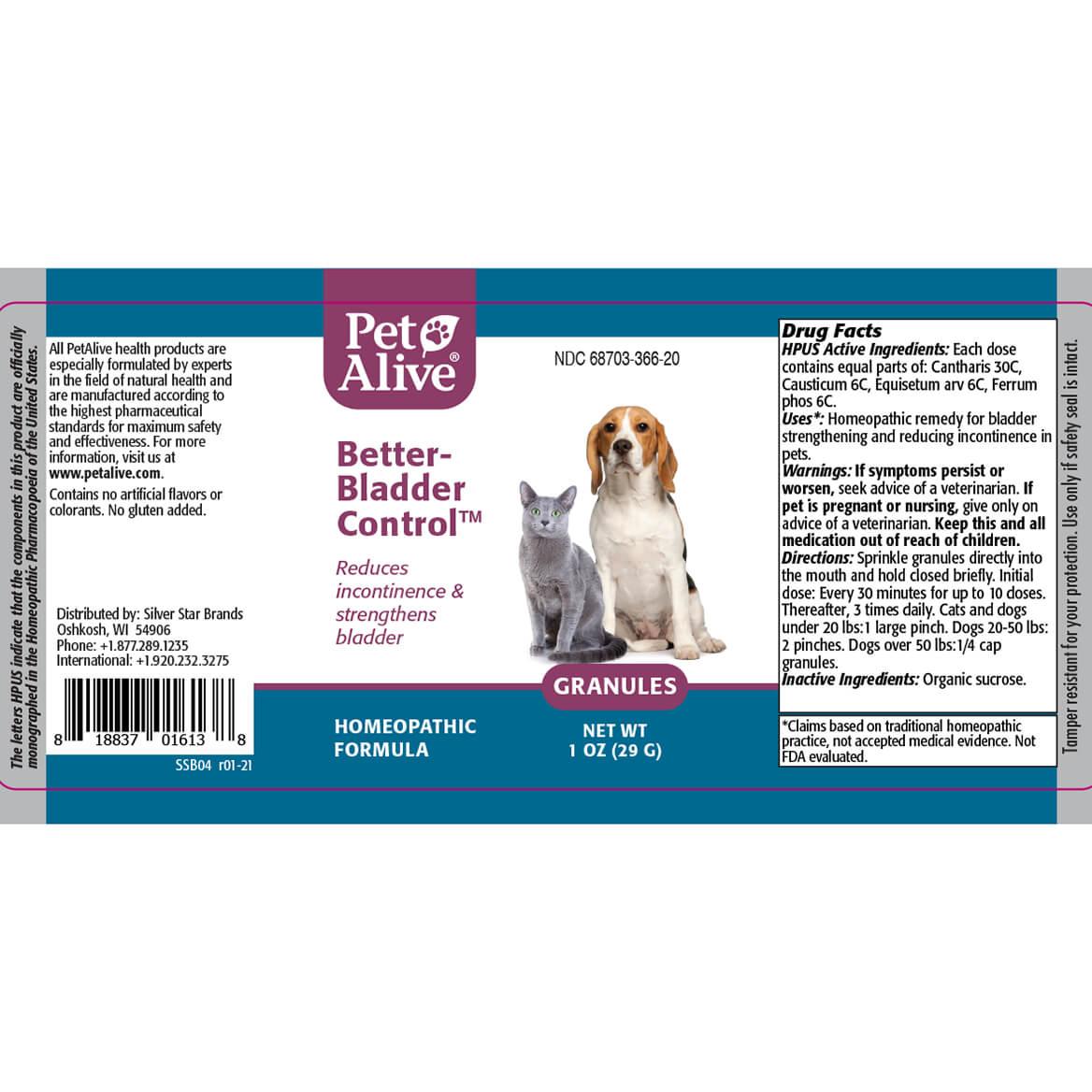 PetAlive®Better-Bladder Control™ Granules-371830