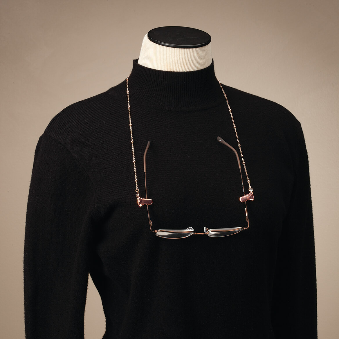Eyeglass & Mask Chain with Crystal and Bead Accents-371873