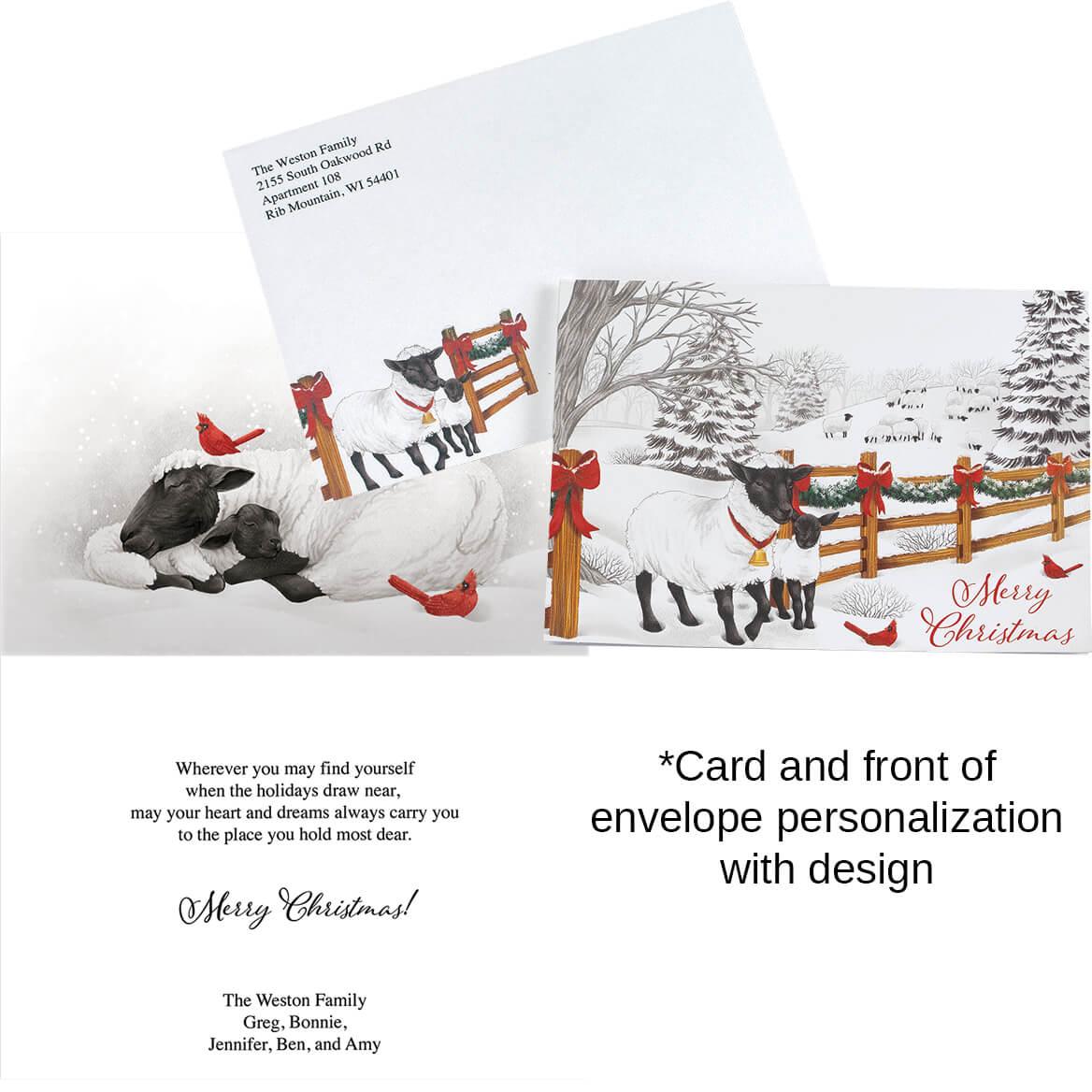 Merry Greetings Christmas Card Set of 20-371898