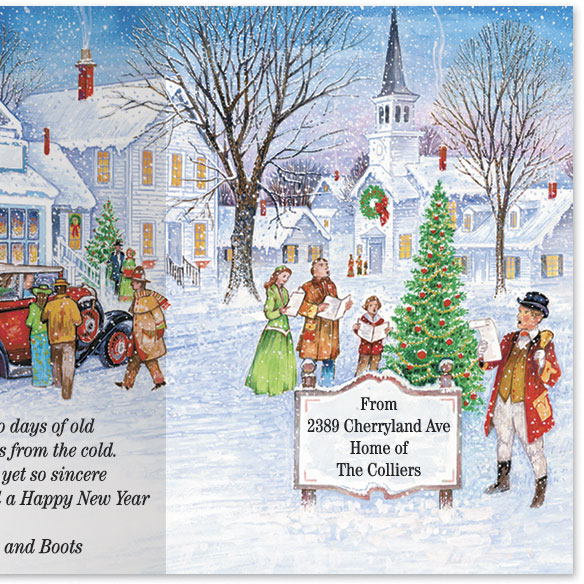 Antique Auto Christmas Card Set/20 - View 4