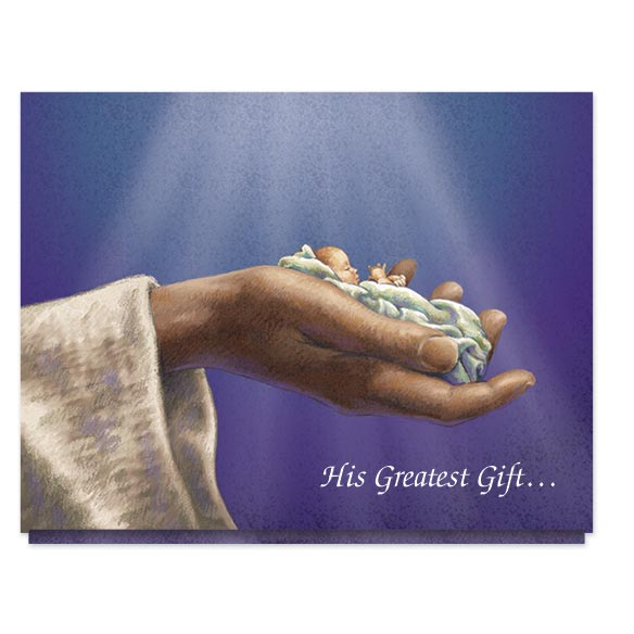 His Greatest Gift Christmas Card Set/20 - View 2