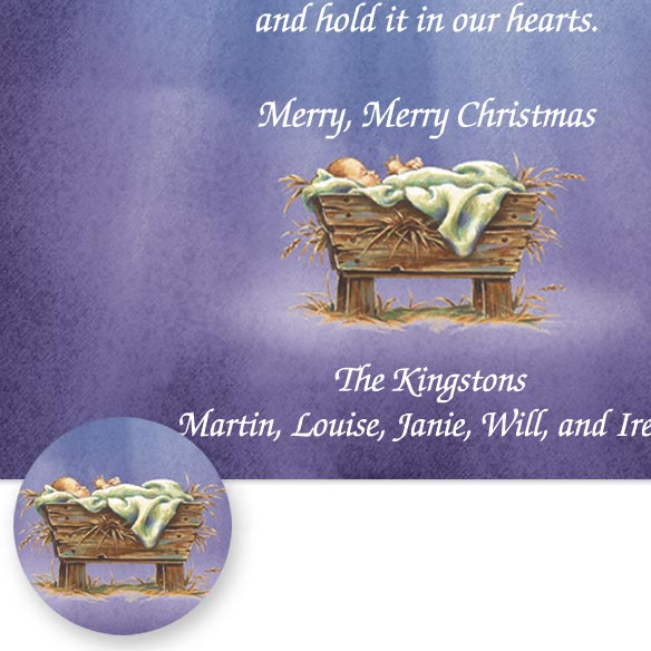 His Greatest Gift Christmas Card Set/20 - View 4