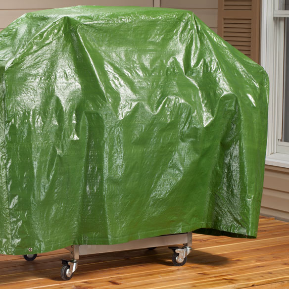 "Outdoor Gas Grill Cover - 60""L x 42""H x 22""W - View 3"
