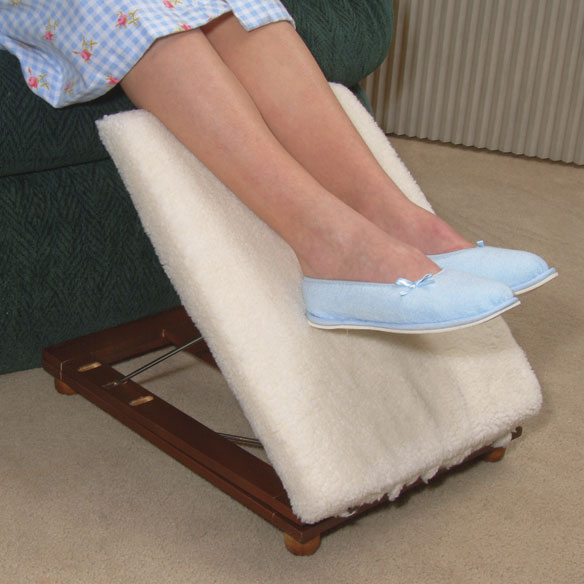 Adjustable Padded Footstool - View 3