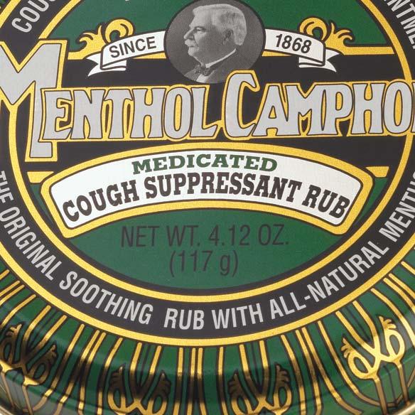Menthol Camphor Ointment 4.125 oz. - View 2