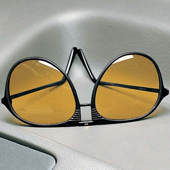 Aviator Night Driving Glasses - View 2