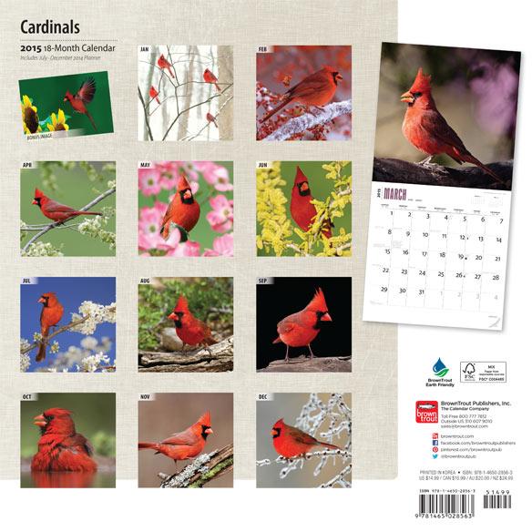 Cardinal Calendar - View 2