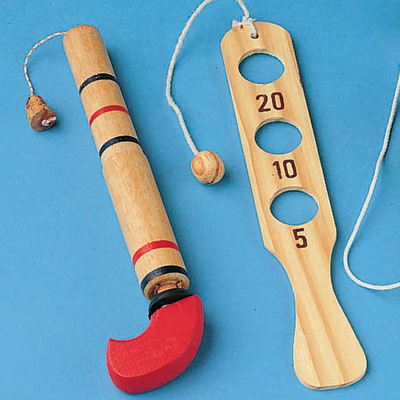 Wooden Toy Set - Set of 3 - View 2