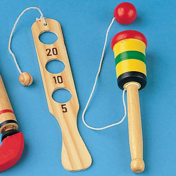 Wooden Toy Set - Set of 3 - View 3