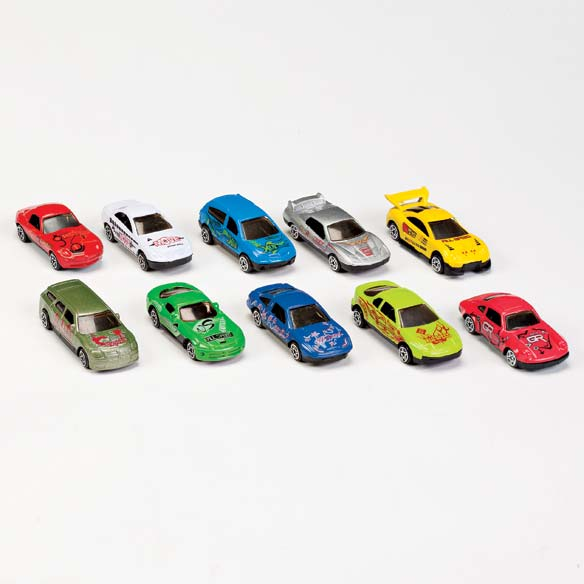 Toy Car Floor Mat and Car Set - View 2