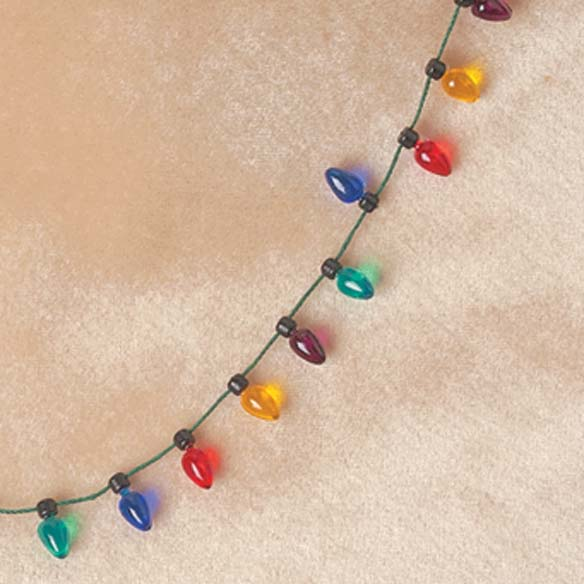 Christmas Light Necklace - View 2