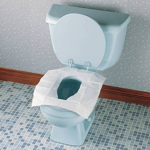 Toilet Seat Covers Wallet/Covers - View 2