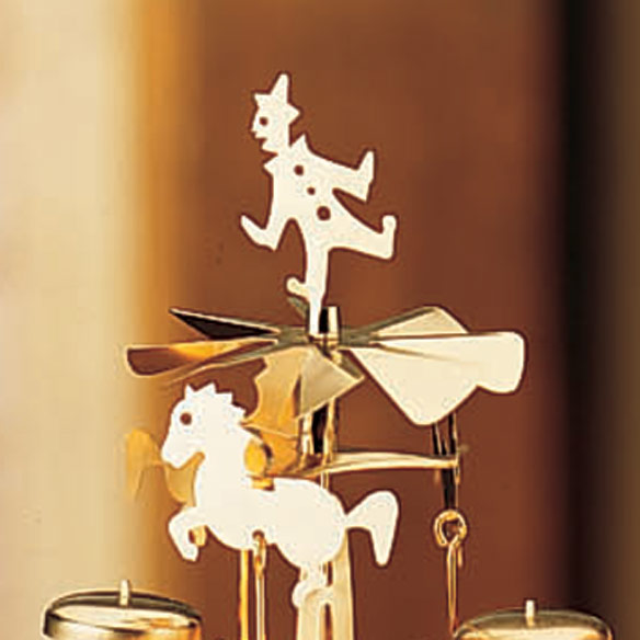 Angel Christmas Candle Carousel Candle Carousel Miles