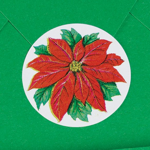 Poinsettia Seals - View 2