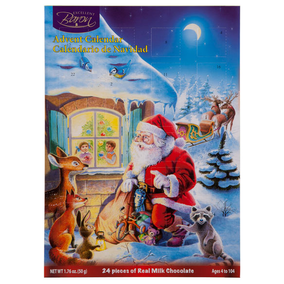 Chocolate Advent Calendar - View 2
