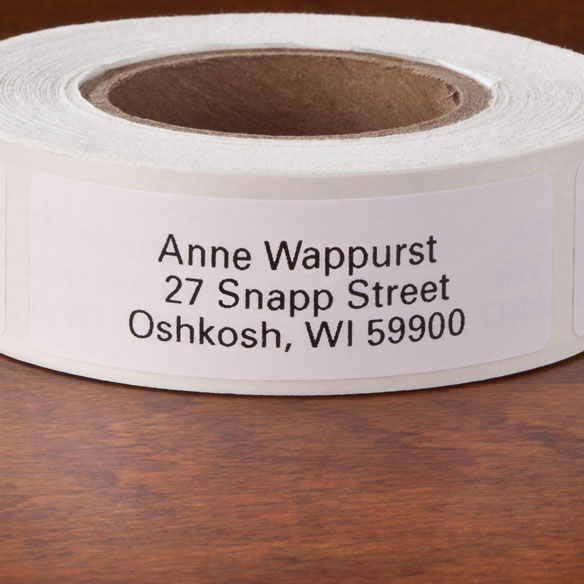 Self Stick Address Labels - Roll Of 250 - View 4