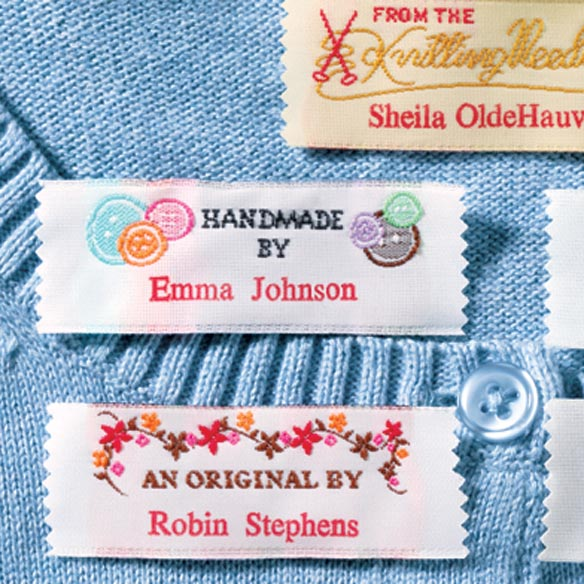 Handiwork Labels Pack 20 - View 2