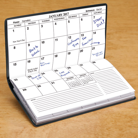 Personalized Pocket Calendar
