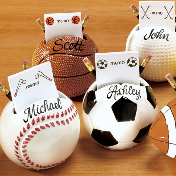 Sports Memo Holder - View 3