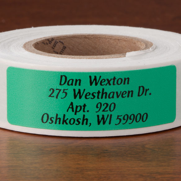 Colorful Address Labels - Roll Of 250 - View 3