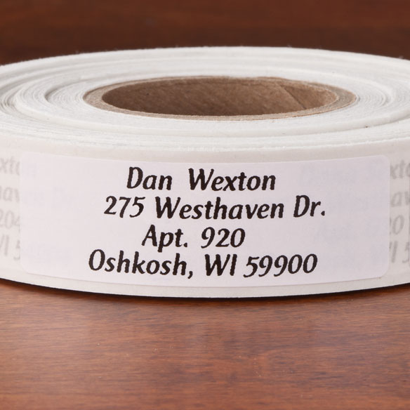 Colorful Address Labels - Roll Of 500 - View 4