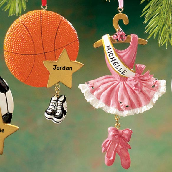 Personalized Sport Ornament - View 3