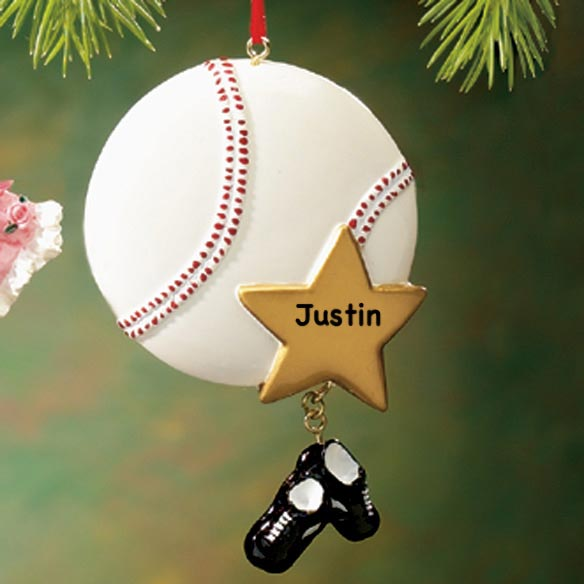 Personalized Sport Ornament - View 4